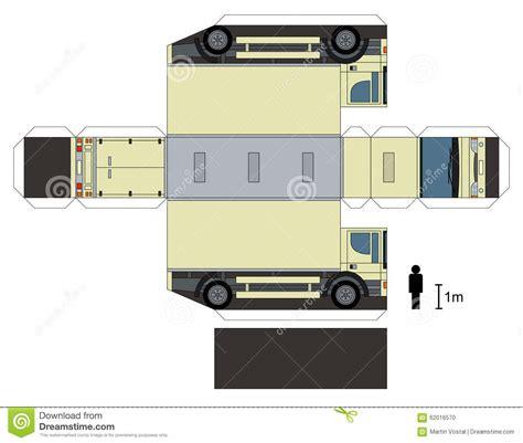 truck paper papercraft truck related keywords papercraft truck long