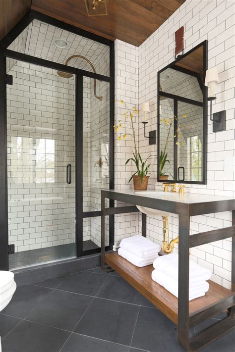 bathroom white brick tiles 14 decorating ideas for a chic bathroom founterior