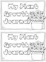 printable plant observation journal my plant growth journal freebie science pinterest