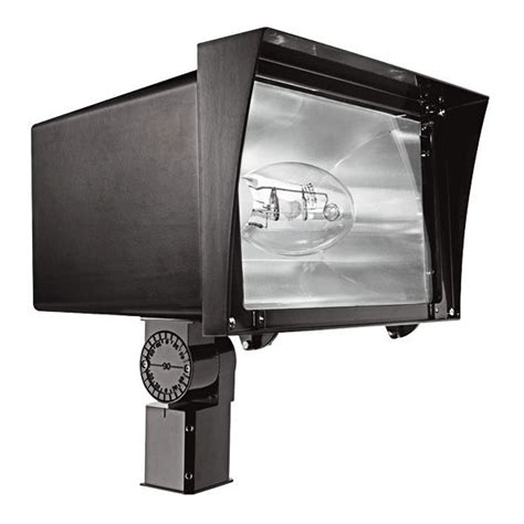 250 Watt Light Fixture Rab Fzh250sfpsq 250 Watt Pulse Start Metal Halide Flood Fixture 120 208 240 277 Volt