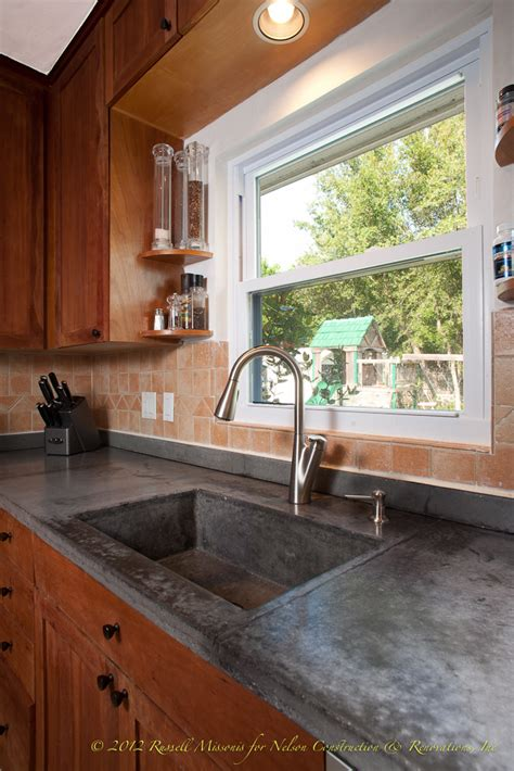 Countertop Services by Concrete Countertops By Nelson Construction And