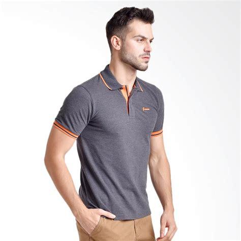 Zigzag Grey Kaos Pria Atasan Cowok jual hammer polo shirt atasan pria grey e1pf411a1 harga kualitas terjamin