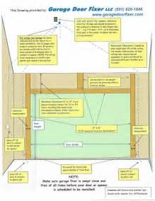 measuring or framing a door garage door fixer 501 626 1846