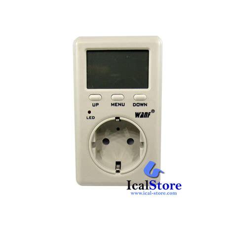 Alat Ukur Ac Listrik Voltmeter Digital Stop Kontak Pln T1310 watt meter mini ammeter wanf d02a ical store ical store