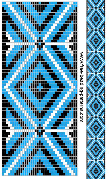 cool beading patterns free beading pattern guitar cool blue