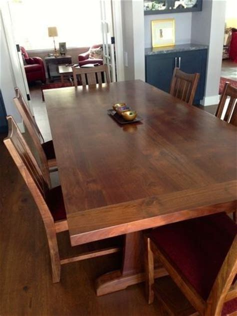 kitchen table walnut creek ca custom made california walnut dining table by top notch