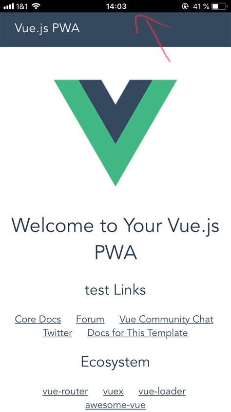 progressive web apps pwa ios change status bar color