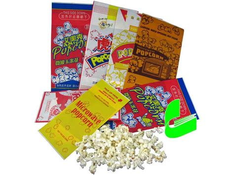 Popcorn In A Paper Bag In The Microwave - china microwave popcorn paper bags hf g 18 31681419