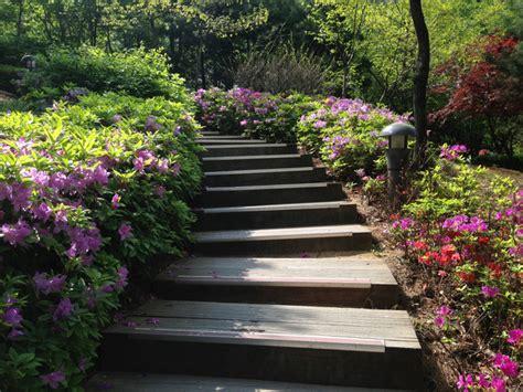 Faire Des Marches Dans Un Jardin by Cr 233 Er Un Escalier Au Jardin Mat 233 Riau Hauteur Et