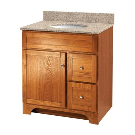 worthington 30 inch oak bathroom vanity burroughs