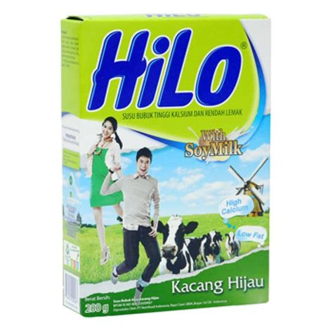 Hilo Active 250 Gram Hilo Active Kacang Hijau 750gr