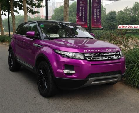 Afbeeldingsresultaat Voor Range Rover Evoque Purple Cars