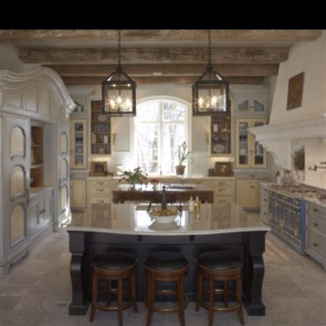 french country kitchen island lighting afreakatheart lantern lights above island for the home pinterest