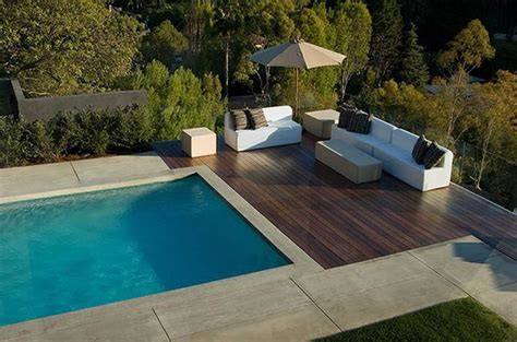 modern pools best 10 pool with deck ideas on pinterest deck with