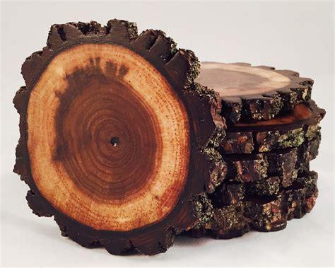 Walnut Wood Coasters   Natural Artisan Wood Coasters