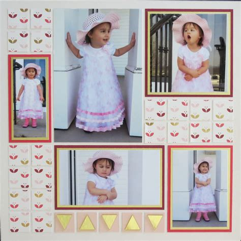 highlight foil layouts 3 scrapbook trends for summer pages