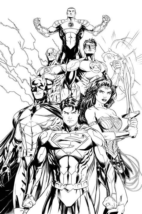 free justice league coloring pages az coloring pages