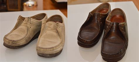 diy leather shoes diy suede shoes into smooth leather warfieldfamily