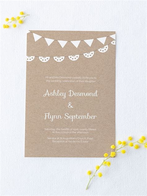 16 Printable Wedding Invitation Templates You Can Diy Wedding Invitation Template