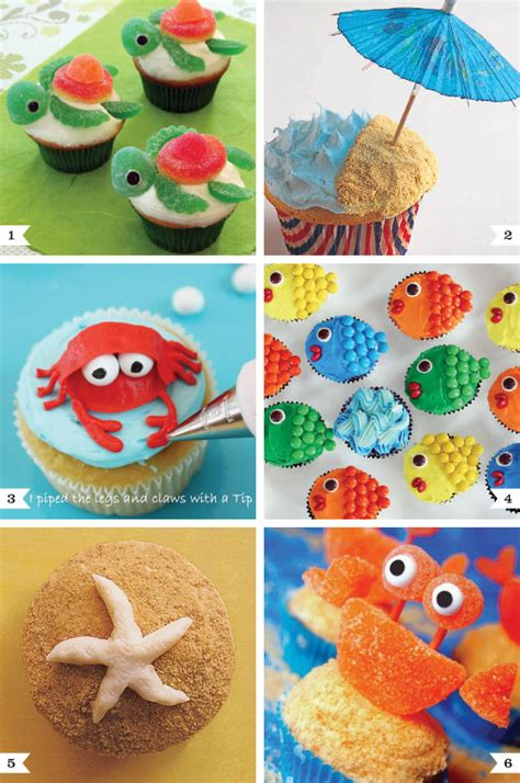 diy cupcake decorations the sea cupcake decorating ideas chickabug