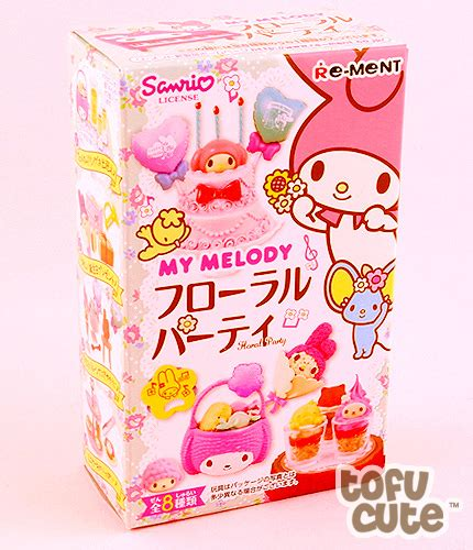 My Melody Floral Re Ment Box No 5 buy re ment my melody floral japanese miniature at
