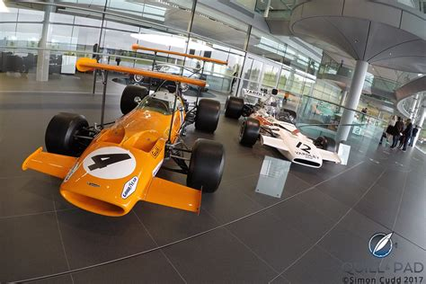 history of mclaren you are there visiting mclaren with richard mille quill