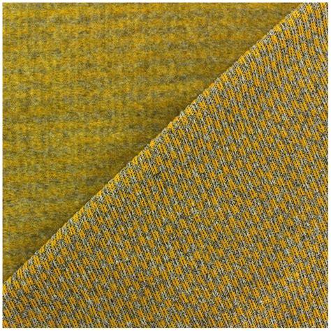 woven knit fabric jersey knit woven fabric checked yellow x 10cm ma