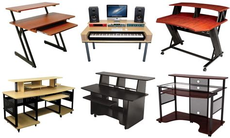 The Best Studio Desk For Music Recording And Producing Home Studio Desk Workstation