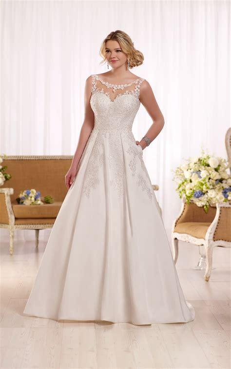 Ivory Wedding by Ivory Wedding Dresses Lace Wedding Dress Essense Of