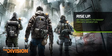 Tom Clancys The Division Requires geforce gtx tom clancy s the division bundle geforce