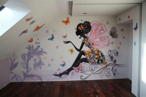 nowoczesny pokoj dla nastolatki malowanie graffiti