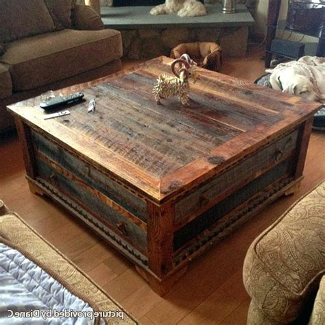 cheap rustic coffee tables stylish rustic coffee table for large tables plans