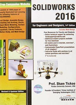 engineering design with solidworks 2018 and books solidworks 2016 for designers 14th edition