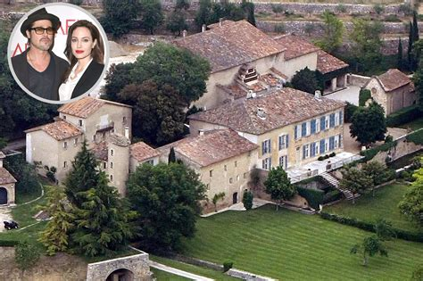 angelina jolie mansion brad pitt and angelina jolie s chateau miraval