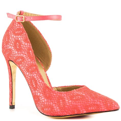 lace coral prom shoes 2014 by luichiny carpet prom