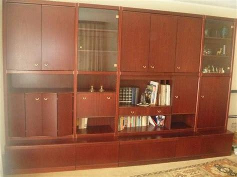 wohnzimmerschrank 2 50 m mahagoni schrankwand neu und gebraucht kaufen bei dhd24