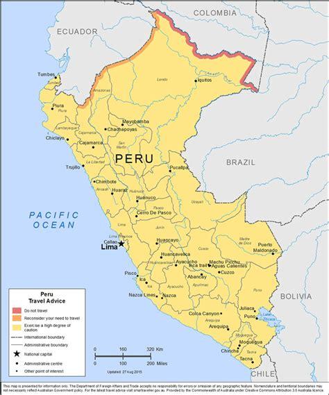 peru map maps update 10001256 tourist map of peru map of peru