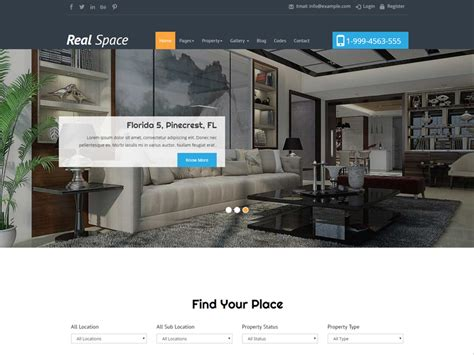 bootstrap themes free real estate 10 best free bootstrap templates for real estate in june