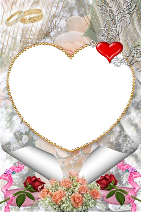 imagenes png boda 5 hermosos marcos para fotos en png de matrimonio o boda