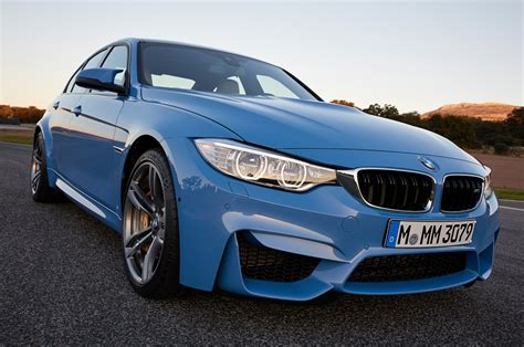 Bmw M3 2015 2015 Bmw M3 Front Side View Closeup Photo 8