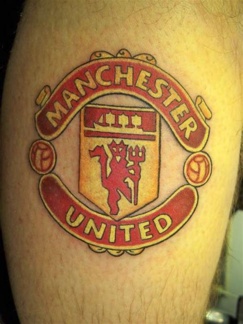 manchester united tattoo designs utd