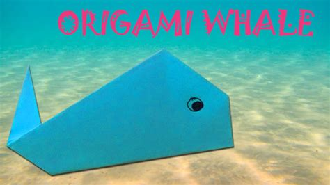 origami whale tutorial origami whale tutorial origami easy youtube
