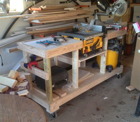 diy table  stand  casters  wolven house project