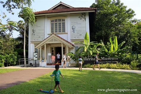 Botanic Gardens Mansion Singapore Botanic Gardens The Unesco World Heritage Site