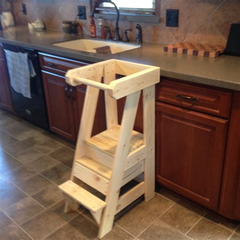 Helper Kitchen Stool by Gary Mort Woodworking