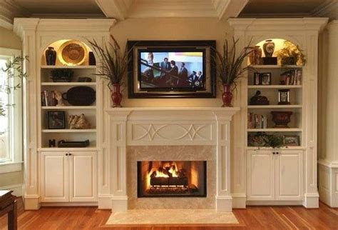 how to build a bookcase around a fireplace woodworking