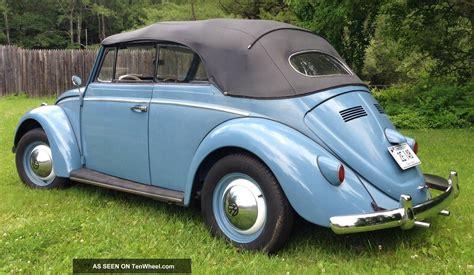 volkswagen beetle 1960 1960 vw volkswagen beetle convertible classic