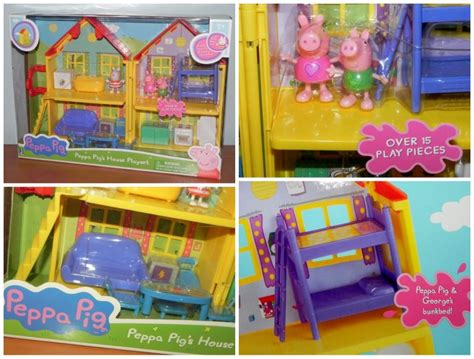 peppa pig deluxe house have a very merry peppa pig holiday review eighty mph mom oregon mom blog