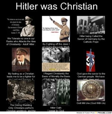 Anti Christian Memes - hitler anti christian quotes quotesgram