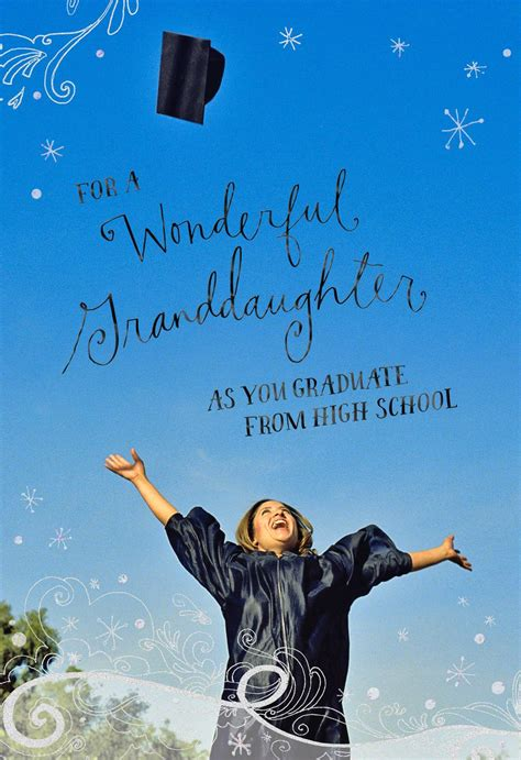 Full Of Promise High Graduation Card For